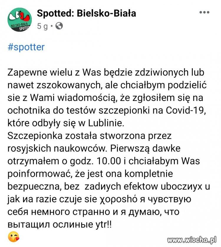 Rosyjska szczepionka na COVID-19...