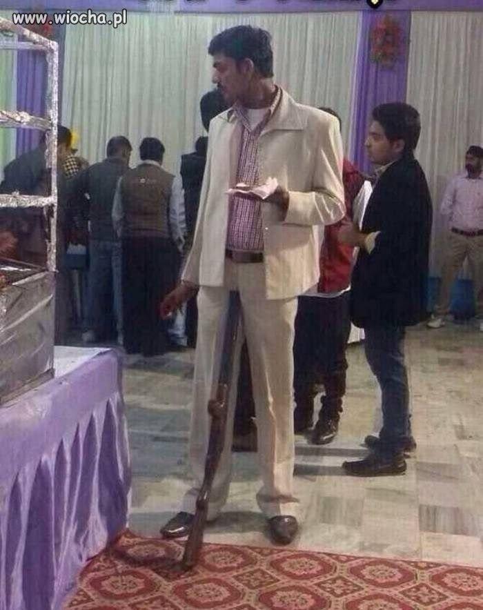 Arab na weselu