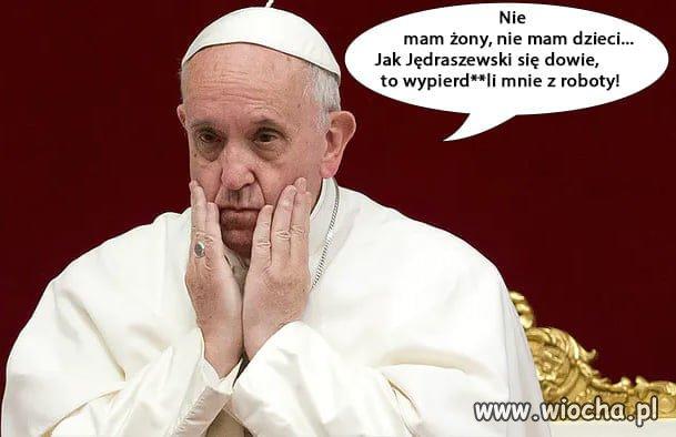 Biedny Franek ...