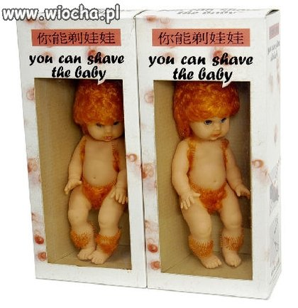You can shave the baby !