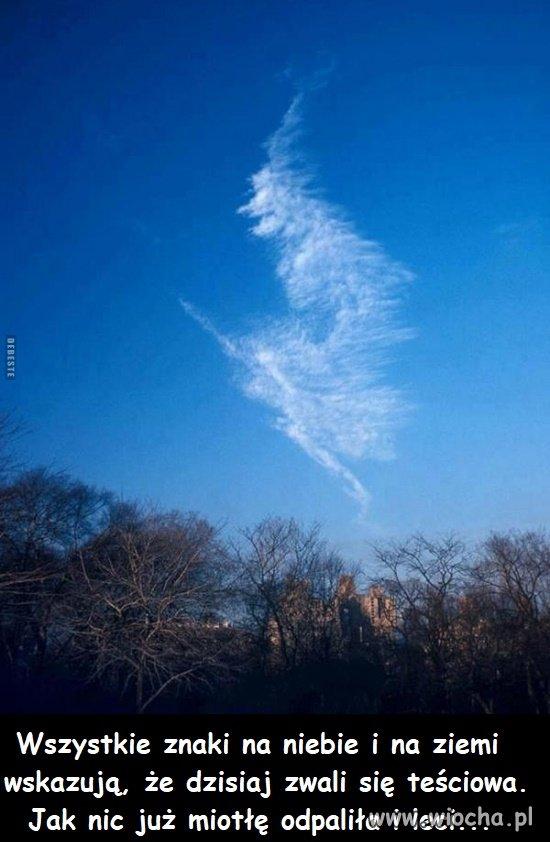 Wszystkie znaki na niebie i ziemi
