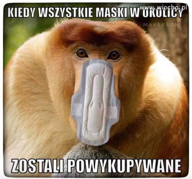 Kiedy wszystkie maski wykupione