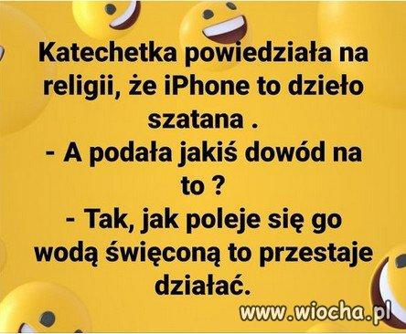 IPhone to dzielo szatana...