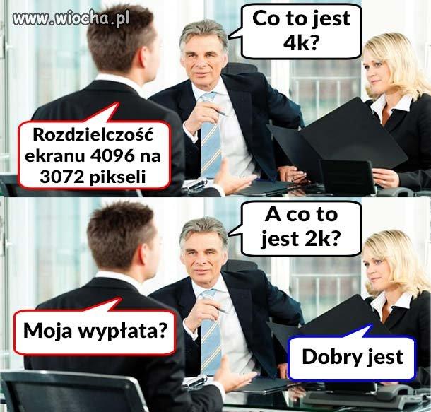 Rozmowa kwalifikacyjna w PL