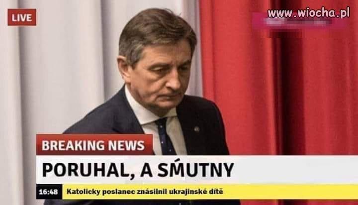 Czeska prasa o Kuchcińskim.