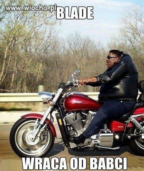 Blade wraca od babci