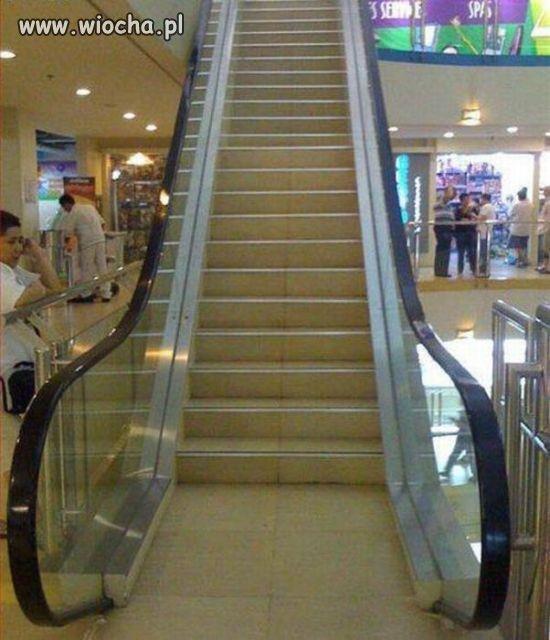 (nie)ruchome schody