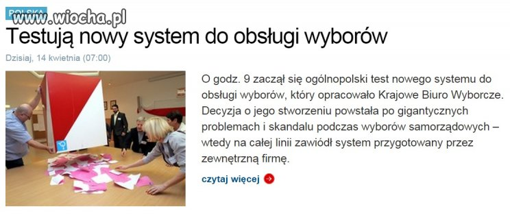 Nowy system...
