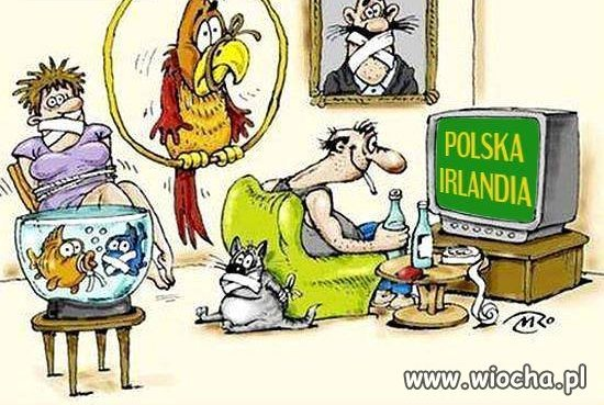 Mecz Polska Irlandia