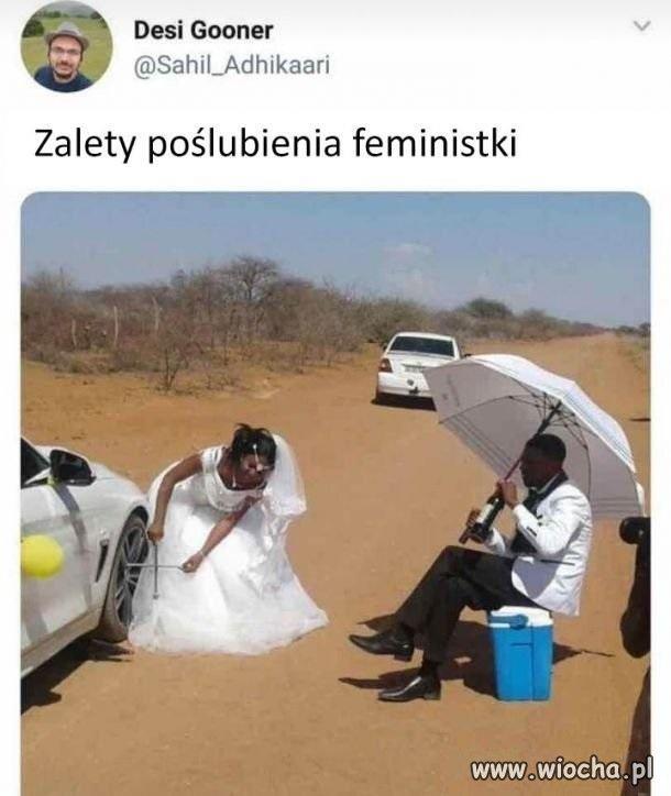 Plusy feminizmu.