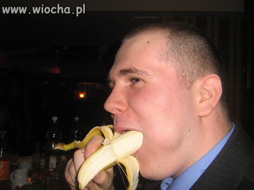 Trening na bananie