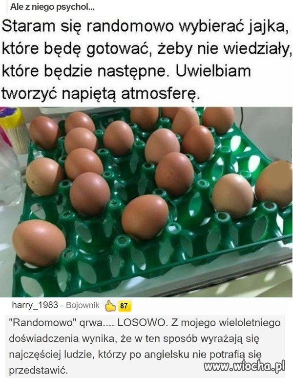 Jajka i psychol