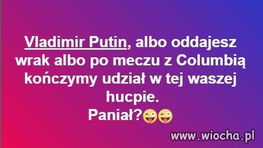 Putin! Oddaj...