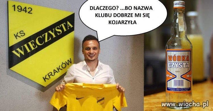Spektakularny transfer Peszki