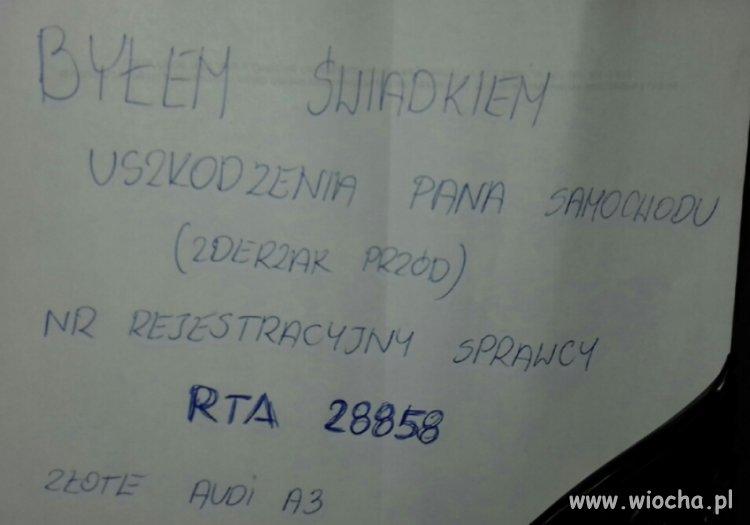 SZUKAM ŚWIADKA ZDARZENIA - Tarnobrzeg 01.09 g.19-2