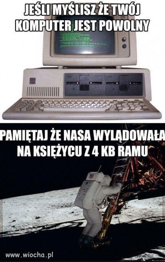 Powolny komputer?