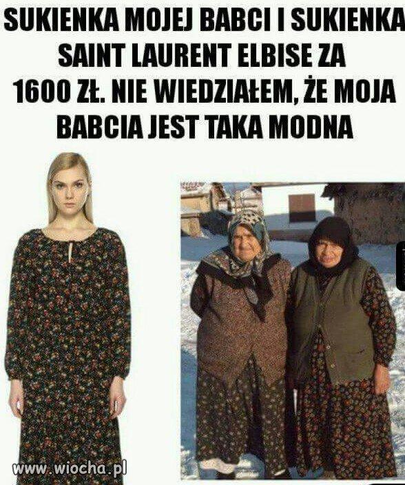 I za 16 złotych ma babcia.