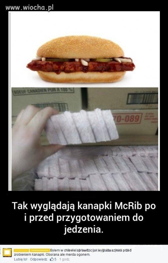 Kanapki McRib