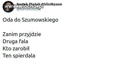 Oda do Szumowskiego