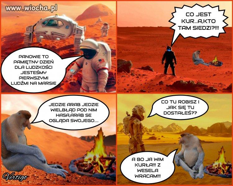 Janusz na Marsie