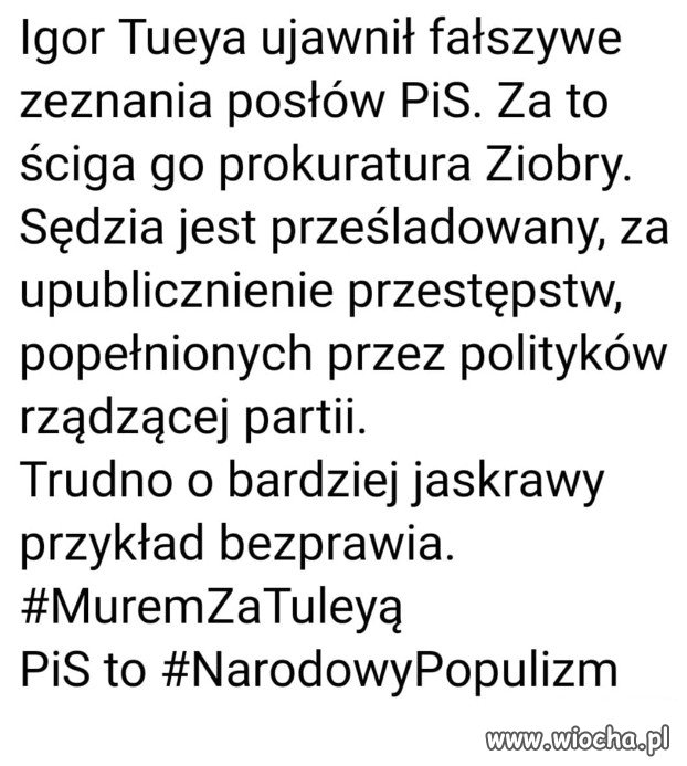 Prawo i Sprawiedliwosc, wersja Kaczynskiego i Ziobry!