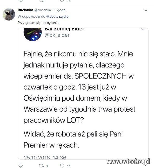 Pytania do Beaty Szydło...
