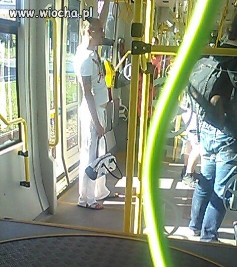 Hehe takie rzeczy tramwaj 21