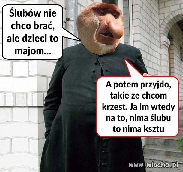 Ksiądz Janusz.