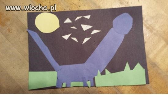 A oto  straszny dinozaur