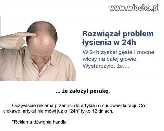 Pewna reklama na Wiocha.pl