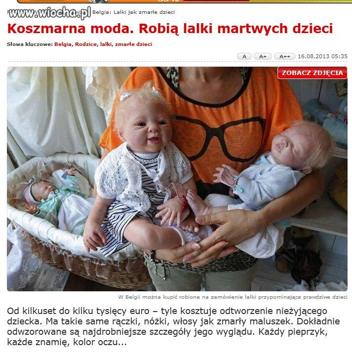 Lalki martwych dzieci
