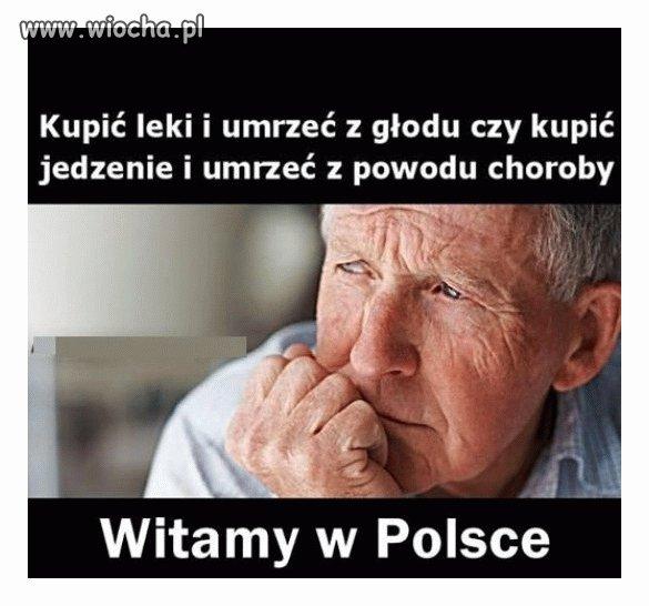 Dylemat starszych osób w Polsce