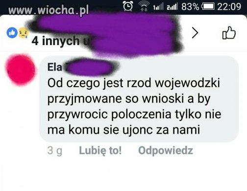 "Poziom pisowni ""na wsi"""