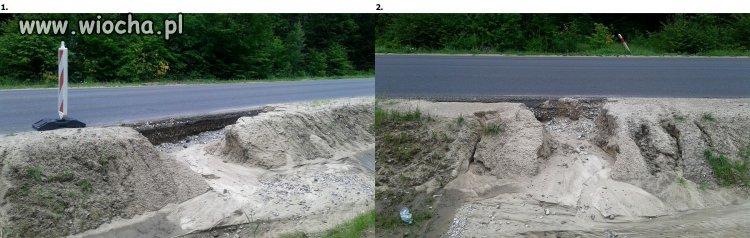 Droga Kwidzyn Prabuty po remoncie na odc wielu km.