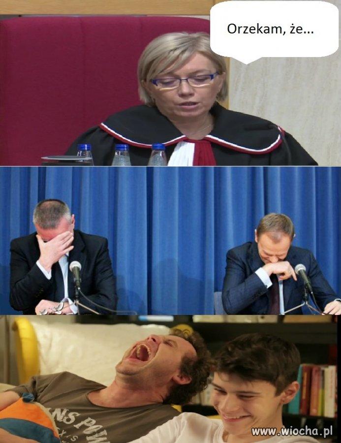 """Przyłębska wydała """"wyrok""""..."""