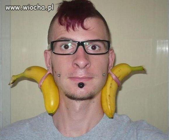 Bananowy akcent ...