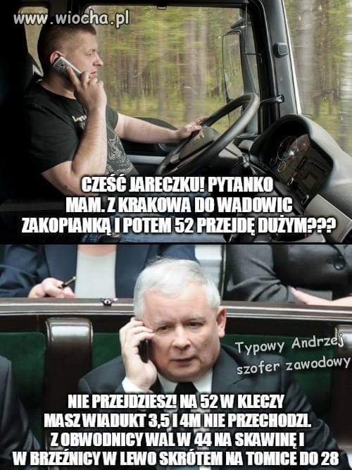 Jak problem to tylko do Jarka
