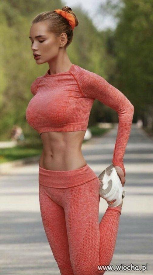 Poranny jogging.