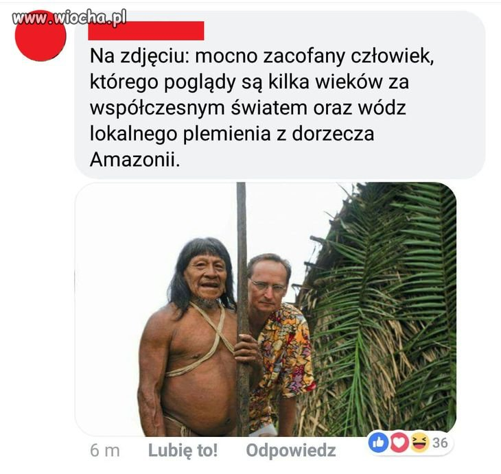 Wódz lokalnego plemienia