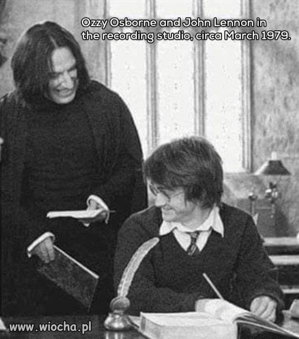 Ozzy Osbourne i John Lennon...