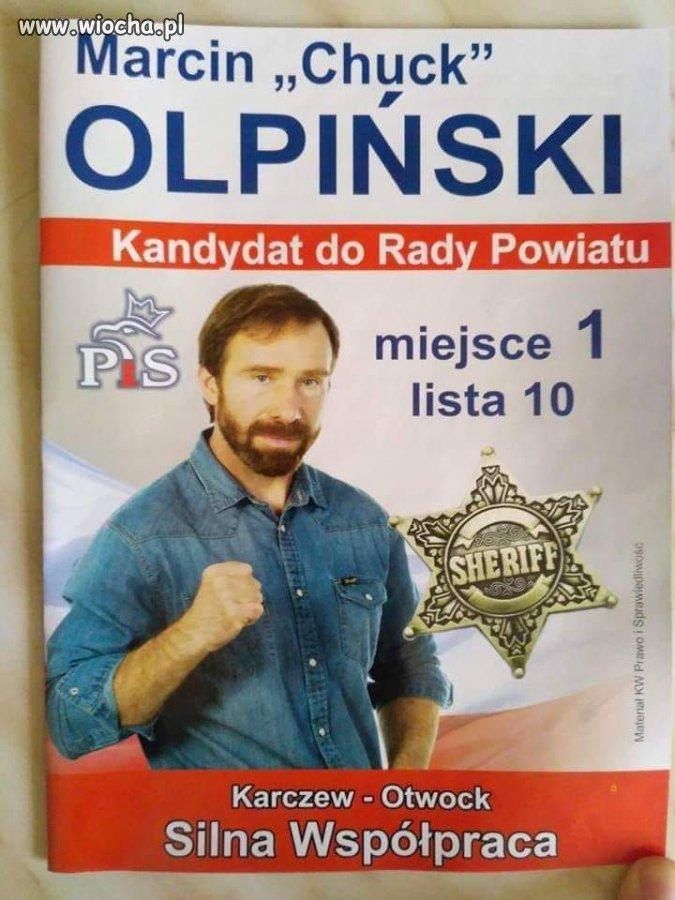 Jaka partia taki Chuck Norris