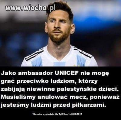 Argentyna odwołała mecz z Izraelem!