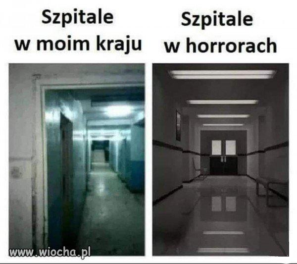 Szpitale w Polsce