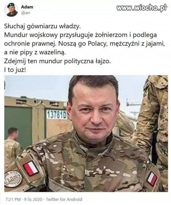 Zniewaga dla Wojska Polskiego