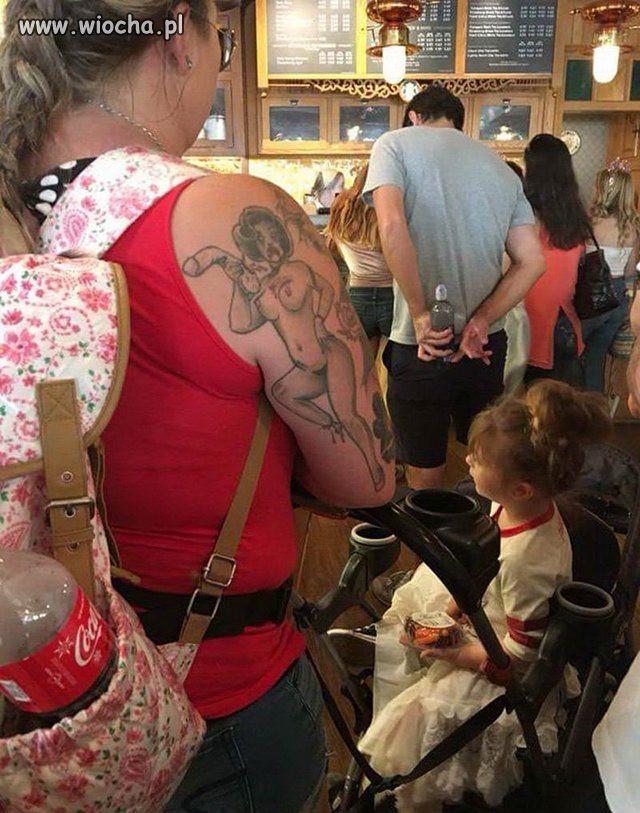 Mamo skąd masz ten tatuaż