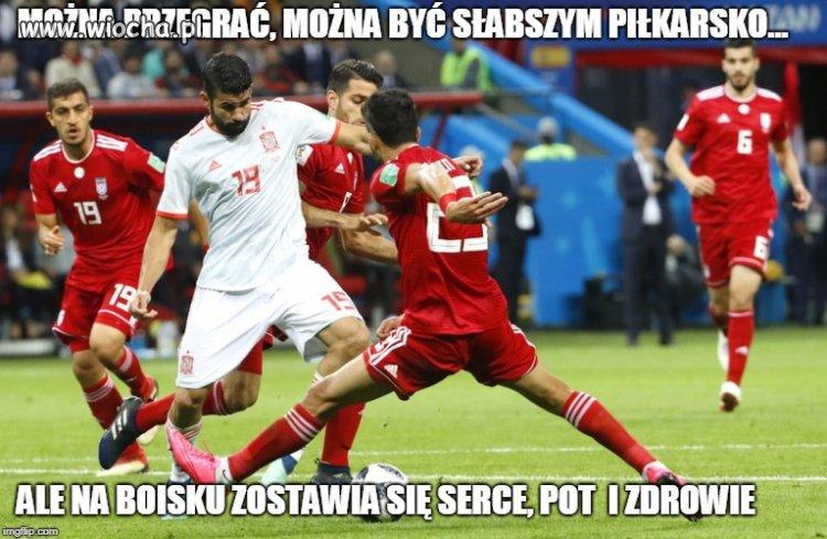 Hiszpania wygrała z Iranem 1:0