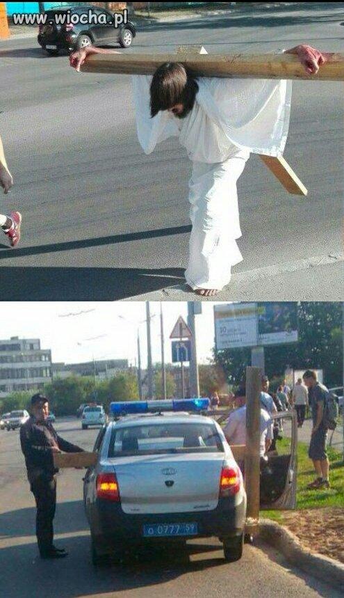 Stacja III, Jezus zostaje aresztowany