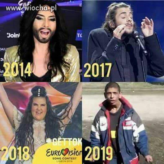 To ona, Eurowizji.