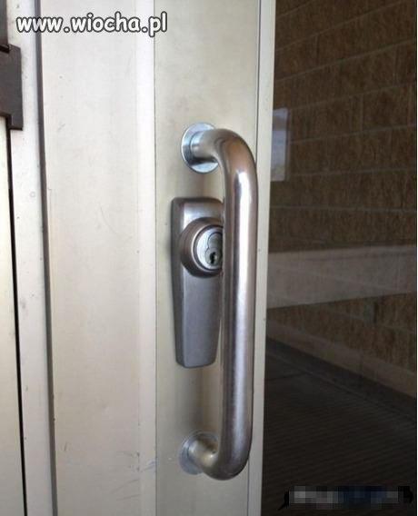 Fajne drzwi...