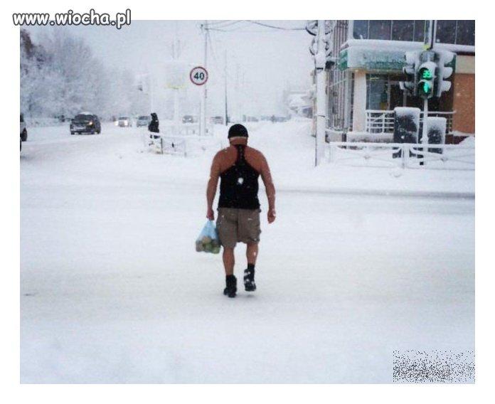 Zima? Jaka kur.. zima?